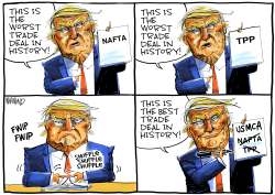 USMCA the best trade deal in the world by Dave Whamond