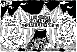 Impeachment Circus by Monte Wolverton