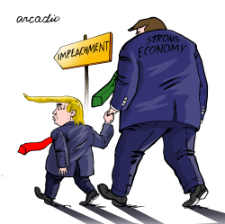 Trump and his economy by Arcadio Esquivel