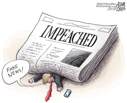 Impeached by Adam Zyglis