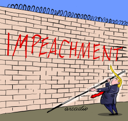 Impeachment the real wall by Arcadio Esquivel