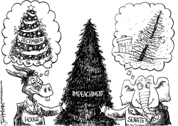 Impeachment tree by Joe Heller