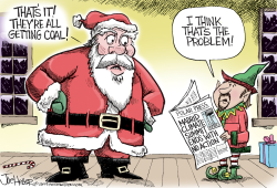 Climate Summit by Joe Heller