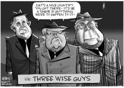 The Three Wise Guys by Dave Whamond