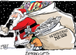 Santa News by Pat Bagley