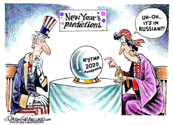 New Year 2020 prediction by Dave Granlund
