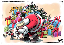Santa Boris by Jos Collignon