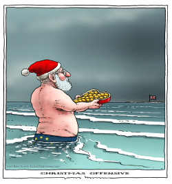 christmas offensive by Joep Bertrams