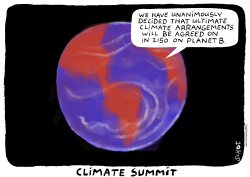 CLIMATE SUMMIT 2150 by Schot