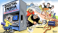 India internet curbs by Paresh Nath