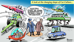 Car culture changing by Paresh Nath