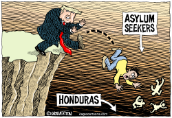 Dumping Asylum Seekers in Honduras by Monte Wolverton