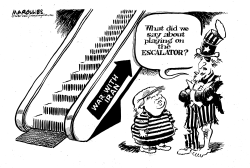 Iran War escalation by Jimmy Margulies
