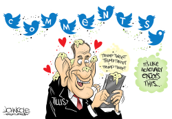 LOCAL NC Thom Tillis Twitter love by John Cole