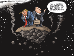 Deescalation by Kevin Siers
