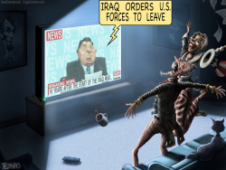 Iraq kick American forces out by Sean Delonas
