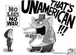 American Traitor by Pat Bagley
