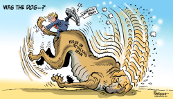 Trump wags the dog by Paresh Nath
