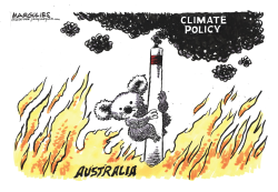Australia wildfires by Jimmy Margulies