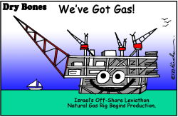 Israel has Gas by Yaakov Kirschen