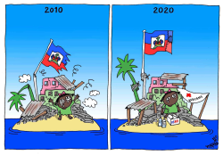 Haiti 10 years later by Stephane Peray