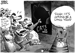 The CATS movie is a real dog by Dave Whamond