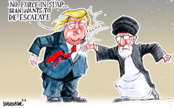 Not a Forceful Slap by Sabir Nazar