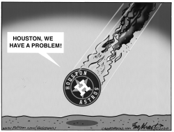 Cheating Astros by Bob Englehart
