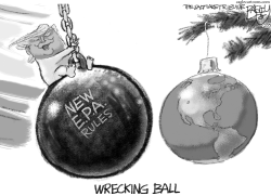 Wrecking Crew by Pat Bagley