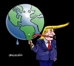 The owner of the world by Arcadio Esquivel