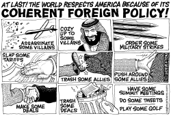 America's Coherent Foreign Policy by Monte Wolverton