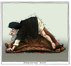 persian rug by Joep Bertrams