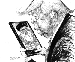Trump`s new target by Petar Pismestrovic