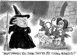 Witch Hunt by Pat Bagley