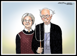 Liz and Bernie Gothic by J.D. Crowe