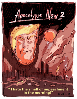 Impeachment 3 Apocalypse 2 by Peter Kuper