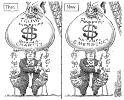 Self serving by Adam Zyglis
