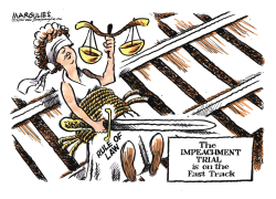Impeachment Trial on the Fast Track by Jimmy Margulies