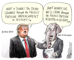 Sham process by Adam Zyglis