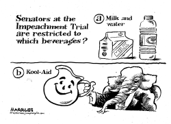 Impeachment Trial Beverages by Jimmy Margulies