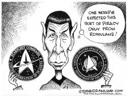 Space Force logo design by Dave Granlund