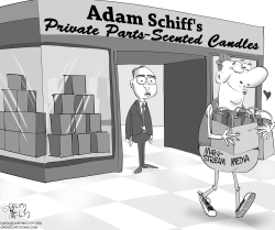 Adam Schiff Candles by Gary McCoy