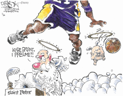 Kobe Bryant by John Darkow