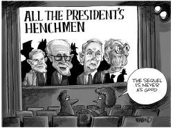 All the President's Henchmen by Dave Whamond