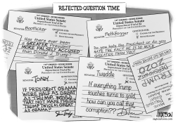 Rejected Senate Questions Time by R.J. Matson
