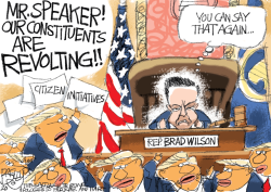 LOCAL Peasants Revolting by Pat Bagley