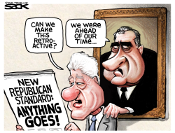 Republican Standards by Steve Sack
