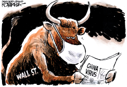 Wall Street Worries by Jeff Koterba