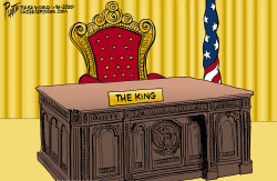 Trump the King by Bruce Plante