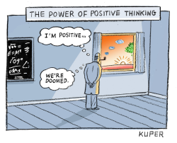 The Power of Positive Thinking by Peter Kuper